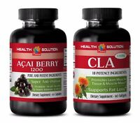 Immune booster - ACAI BERRY – CLA COMBO - antioxidants booster weight loss