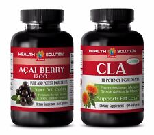 Anti-aging day and night - ACAI BERRY – CLA COMBO - acai Weight loss