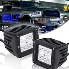2Pcs 3inch Led Light Bar Spot Driving Fog Lights So Bright ! For 02-08 Dodge RAM