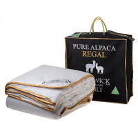 Creswick 100% Pure Alpaca Wool 500GSM Doona|Quilt SUPER KING|QUEEN|DOUBLE|SINGLE