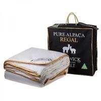 Creswick 100% Pure Alpaca Wool 500GSM Doona|Quilt SUPER KING|QUEEN|DOUBLE|SINGLE
