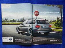 BMW 3er Touring - Werbeanzeige Reklame Advertisement 2008 __ (216