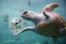 2014 - Niue $1.00 - 8th in Endangered Species series, LOGGERHEAD SEA TURTLE