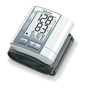 Beurer BC40 Automatic Wrist Blood Pressure Monitor With Memory and Rhythm Check