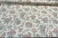 Waverly Arezzo Floral Paisley Giardino Cotton Linen Fabric By the Yard