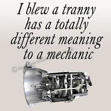 Humorous Classic Car Mechanic Drinks Coaster Gift Idea