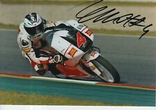 Francesco BAGNAIA Firmato a Mano 7x5 Foto San Carlo team Italia moto 3 MOTOGP 1.