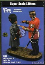 VERLINDEN 1520 - DRILL SERGEANT & PFEIFER BOY C.a.1875 - 120mm RESIN KIT NUOVO