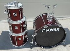 Sonor Force 2001 4 pc Shell Kit! 22, 10, 12, 14!