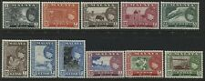 Malaya Kedah 1957 definitive set complete to $5 mint o.g.