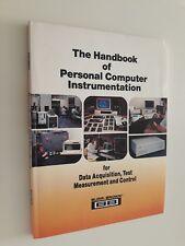 THE HANDBOOK OF PERSONAL COMPUTER INSTRUMENTATION Data Test Burr-Brown BB 1986