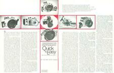 1972 Jim & Cathy Church Part XXII:Housing the Nikon F PRINT ARTICLE Underwater