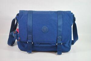 New With Tag KIPLING ALERON Messenger Crossbody Bag - Jazzy Blue