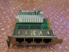 Fujitsu Quad Port Gigabit Ethernet Rete LAN Card D2745 S26361-F3611-E501 LP