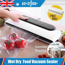 Home Kitchen Vacuum Food Sealer Machine Storage Packaging Saver Heat 10Free Bags