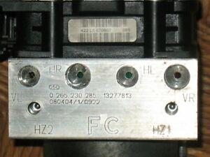 Pompa Centralina ABS Opel Corsa D 0265230285 0265950402 13277813 BOSCH 06-14 ESP