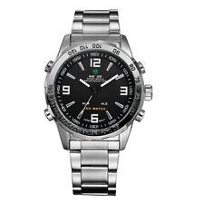 WEIDE WH1009 Quartz Digital Electronic Watch Dual Time Calendar Month 3ATM W0I7