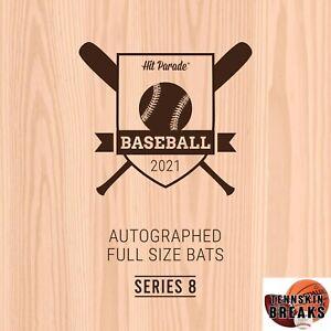 MINNESOTA TWINS 2021 Hit Parade #8 AUTOGRAPHED Baseball Bat 1BOX Break