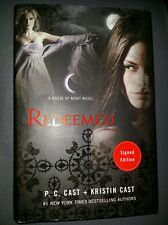 Pc cast Kristin cast redeemed 2014 hardcover book signed 1st edition
