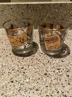 Old Taylor Distillery Kentucky Straight Bourbon Whiskey Vintage Libbey Glasses 2