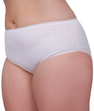 6 Slip calibrati taglie forti donna 100% cotone mutande ottava sedicesima