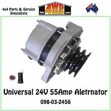 24V Alternator 55A Bosch Type 098-03-2456 For Winch Comp Truck Patrol Gigglepin