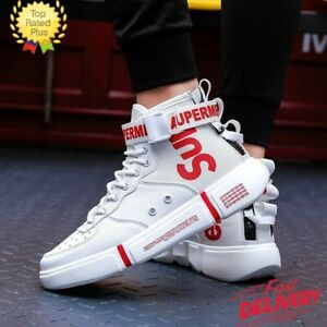 Mens Shoes Trainers Breathable Athletic Lace Up Casual Sneakers Walking Gym Shoe