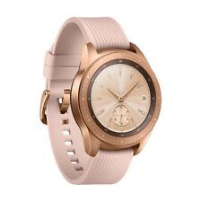Samsung Galaxy Watch 42mm Rose Gold Case - Pink Beige Classic Strap - Very Good