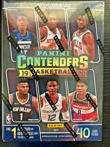 2019-20 Contenders Basketball Blaster Box Zion rookie NBA Panini 25+ Qty SEALED