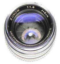 Zunow 5cm f1.9 Leica M mount  #11755