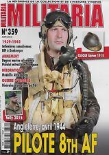 MILITARIA N° 359 / ANGLETERRE AVRIL 1944 PILOTE 8th AF - DAGUE MARINE ALLEMANDE