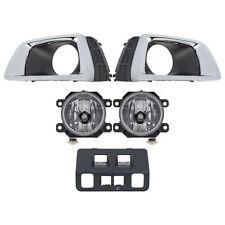 OEM 2016-2018 Subaru Forester XT Fog Light Lamp Kit Black Bezel NEW H4510SG120
