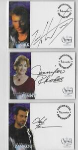 CHARMED CONVERSATIONS  AUTOGRAPH CARD ; CHOOSE A4, A6, A09    CHOOSE