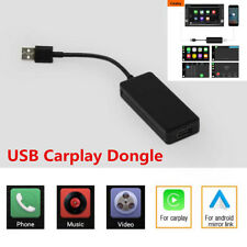 12V Black USB Apple Carplay Dongle For Android iPhone iOS10 Carplay WinCE System