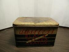 Vintage Tin - dustless BLACK BOARD CRAYON - Chalk - Radiant - Art Crayon Company