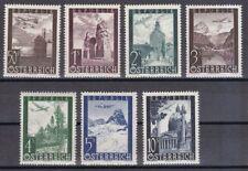 Österreichische Briefmarken (ab 1945) mit Bauwerks-Motiv als Satz