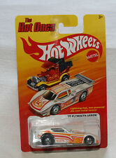 2012 Mattel Hot Wheels The Hot Ones Series '77 Plymouth Arrow White New E05
