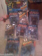Lot of 9 Spawn Action Figures