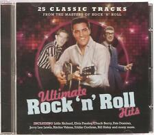 ULTIMATE ROCK N ROLL HITS CD - 25 CLASSIC TRACKS - LITTLE RICHARD & MORE