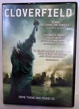 CLOVERFIELD DVD, Used 2008