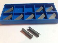 10 X ISCAR DGN 3003UT IC20 Cut Off Carbide Inserts DGFH 3mm Cnc Lathe tools