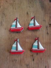 SAIL BOAT SHANK BUTTONS