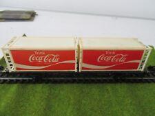 roco wagon met Coca-cola  containers