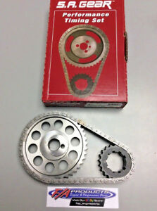Ford Small Block 302 351W Engine Billet 250 Roller Timing Set S.A. GEAR 78551T-9