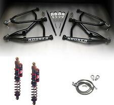 Houser MX Long Travel A-Arms Elka Stage 3 Front Shocks Suspension Kit TRX450R 06