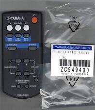 New Yamaha Soundbar Remote Control FSR62 ZC94940 YAS-201 YAS-201BL YAS-CU201
