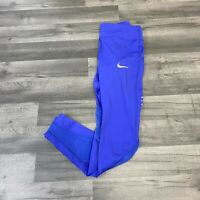 NIKE WMNS POWER EPIC LUX TIGHT FIT LEGGINGS RUNNING BLUE SIZE MEDIUM 842923-512