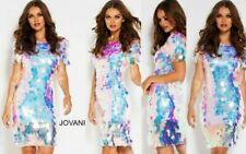 JOVANI 55494 authentic dress. SEE VIDEO. FREE UPS/FEDEX. Last arrival in stock !