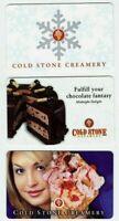 Coldstone Creamery Gift Cards - Ice Cream / Snowflake - No Value - LOT of 3