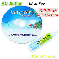 DVD VCD LCD Screen Cleaner Set Disc Laser Lens Cleaning Kit Cleaning Fluid Cloth